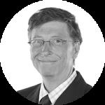 Robotprogramozás óvodásoknak oldal - Bill Gates portré
